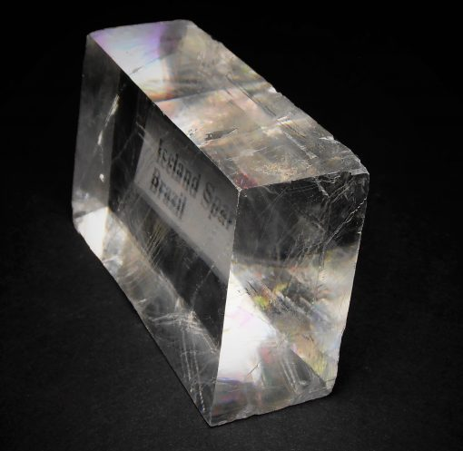 "Calcite - ""Iceland Spar"" from Corumba, Mato Grosso dul Brazil"