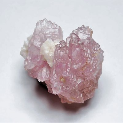 Rose Quartz Crystal Clusters from Galileia, Doce Valley