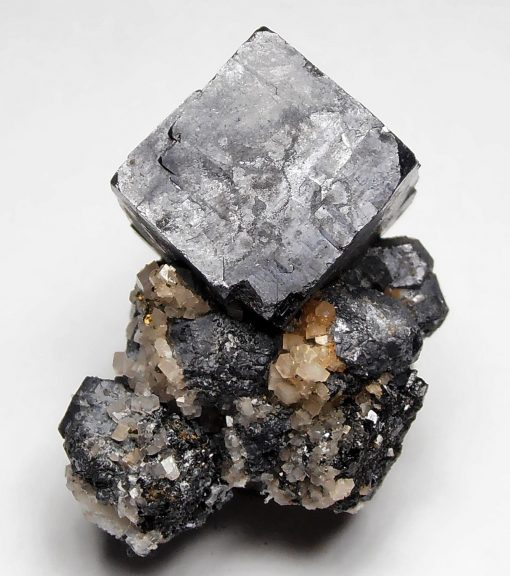 Galena - Cubic Crystal from the Sweetwater Mine, Missouri