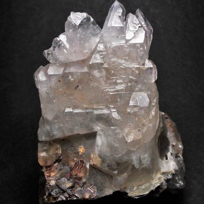 Amethyst - Inverse Scepter Crystals from Hiddenite, North Carolina