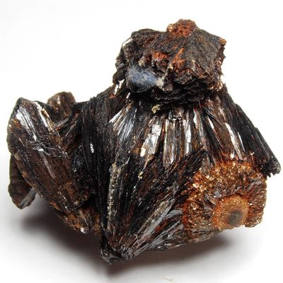 Goethite - Bladed Bronze Crystals from Teller County, Colorado