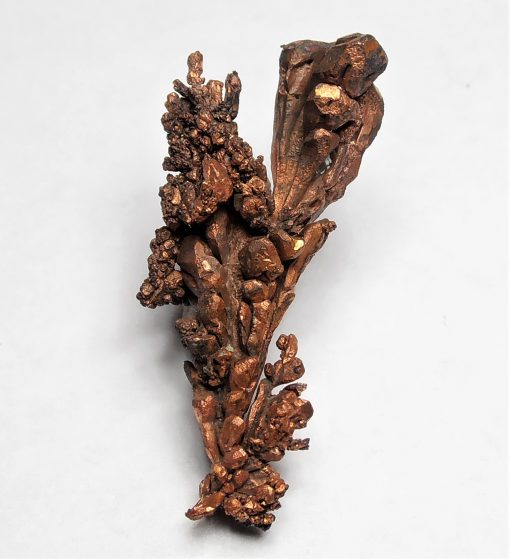 Copper Crystal Cluster with Spinel Twinning - Chino Mine