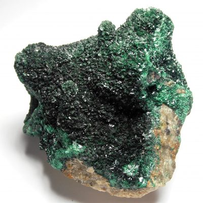 Malachite - Primary Crystals from the Katanga Copper Crescent
