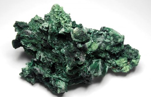 Malachite - Fibrous Crystals from the Katanga Copper Crescent