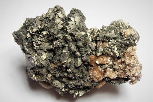 "Arsenopyrite Crystals with ""Coxcombe"" Habits - Panasqueira"