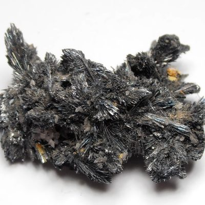 Stibnite Crystal Clusters from the Herja Mine, Maramares