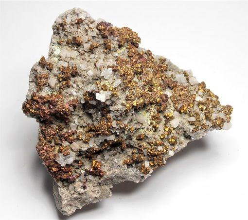 Chalcopyrite Crystals from the Sweetwater Mine
