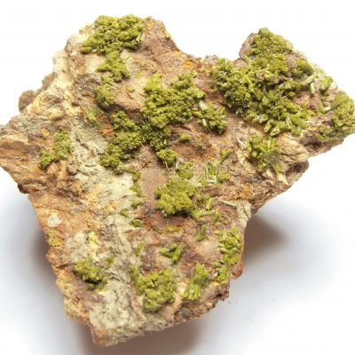 Pyromorphite Crystals from Chester County, Pennsylvania