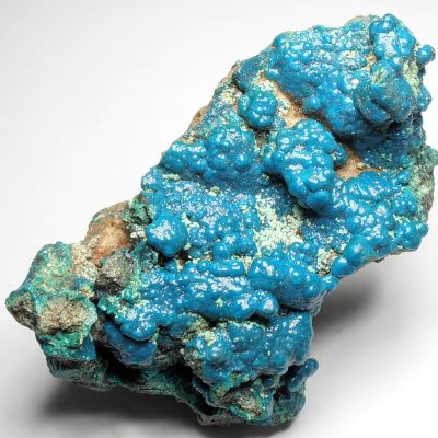 Cornetite and Chrysocolla Formation from the Star of the Congo