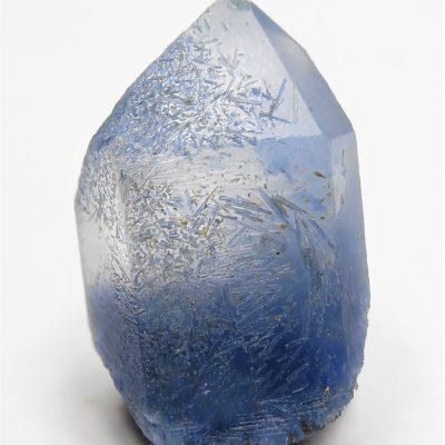 """Dumortierite in Quartz or """"Blue Quartz"""" from Bahia"""