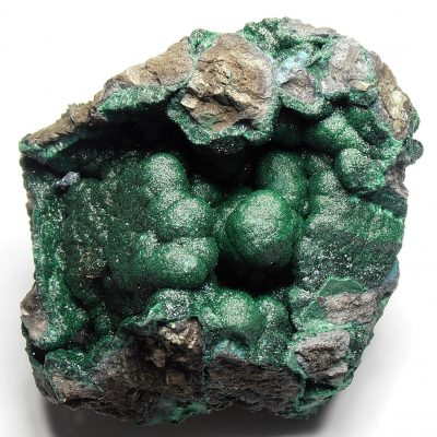 Malachite from the Katanga Copper Crescent