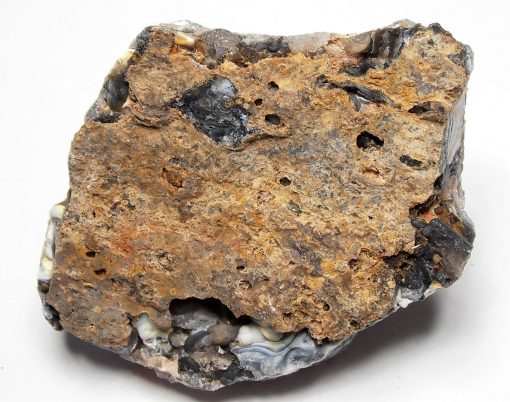 Chalcedony and Quartzine Stalagmite from Barros Cassal