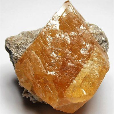 Scheelite - Complex Crystal from the Pingwu Beryl Mine
