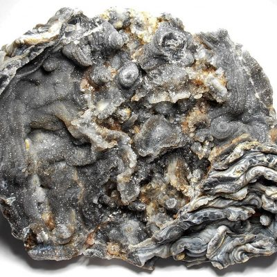 Chalcedony and Quartzine Stalagmite Plate (4 3/4 inches)
