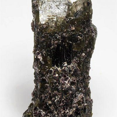 Tourmalated Quartz Crystals and Lepidolite from Minas Gerais
