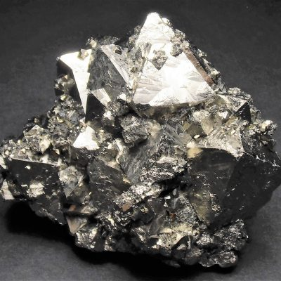 Pyrite - Uncommon Octahedral Habits from the Huanzala Mine