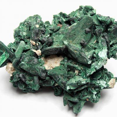 Malachite replacement of Azurites - Milpillas Mine - Sonora