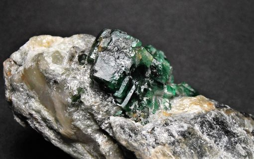 Emerald Crystals - Cabinet Sized Piece from the Swat District