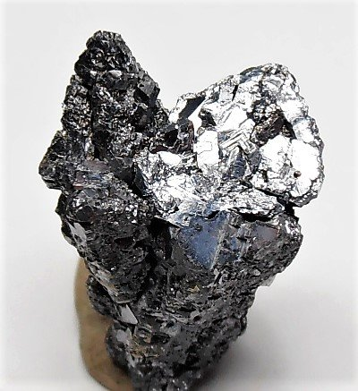 Galena - Spinel Twins from the Elmwood Mine