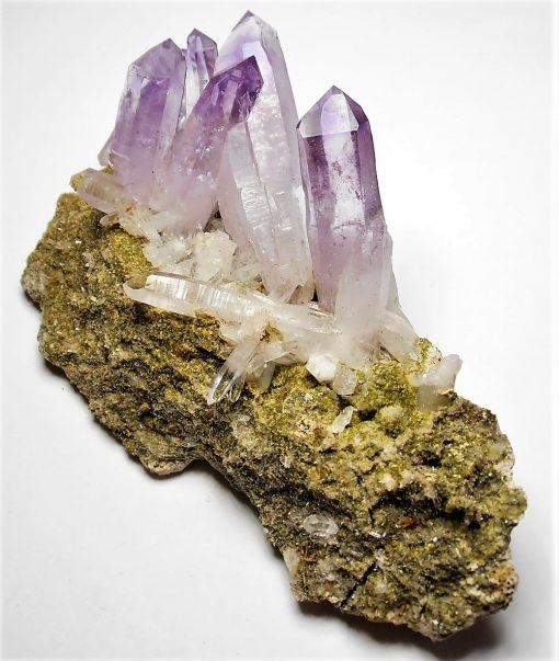 Amethyst - Excellent Crystals on Matrix from Piedras Parado