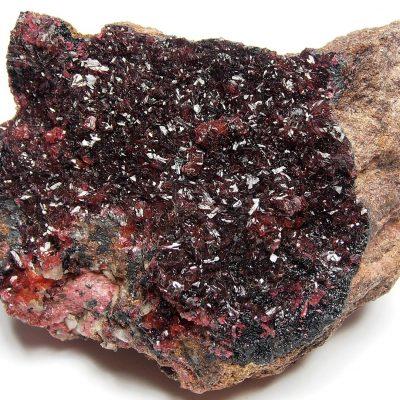 Roselite Crystals from Aghbar, Tazenakht, Ouarzazate Region