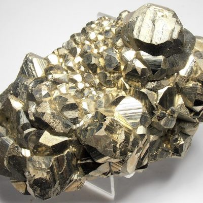 Pyrite - Mirror Luster Crystal Plate - Huanzala