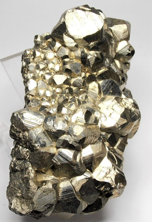 Pyrite - Mirror Luster Crystal Plate - Huanzala