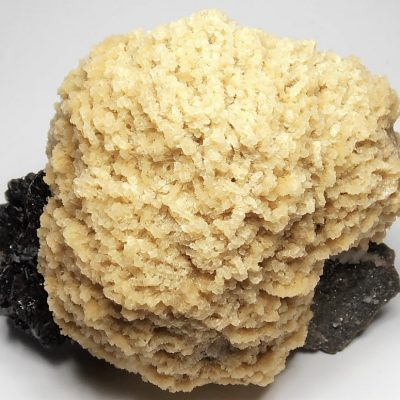 Barite with Sphalerite and Dolomite from the Elmwood Mine