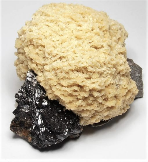 Barite with Sphalerite and Dolomite from the Elmwood