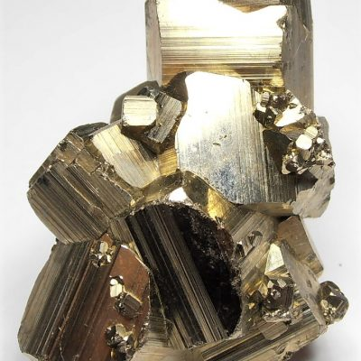 Pyrite Crystal Floater from the Huanzala Mine, Huallanca District