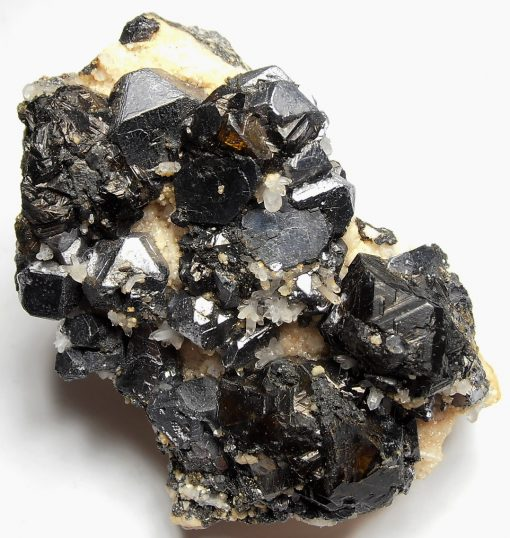 Galena and Sphalerite Crystal Mix from the Pachipaqui District