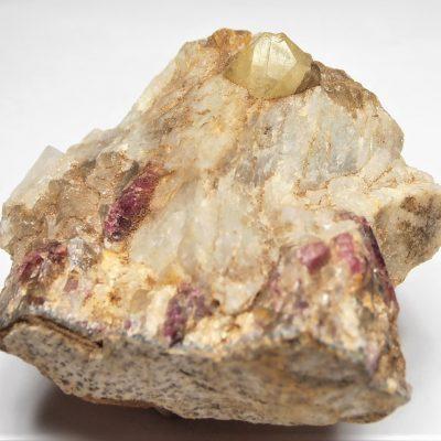 Rhodizite from the Ampasogona Pegmatite, Antananarivo Province