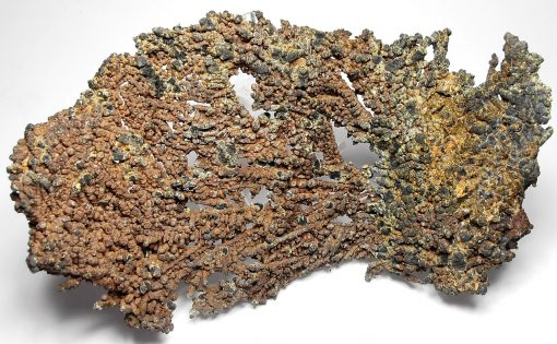 Copper – Fan-like Crystal Formation from Michigan