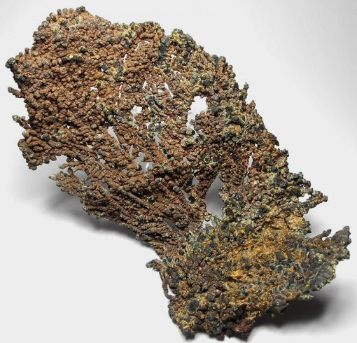 Copper - Dendritic Fan of Spinel Twinned Branches - Keweenaw County