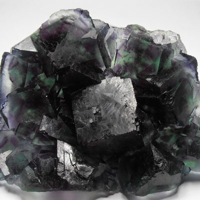 Fluorite - Emerald and Purple Crystals - Okorusu Mine