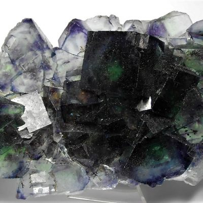 Fluorite - Emerald Blue and Purple - Okorusu Mine