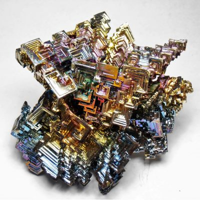 Bismuth Crystal Cluster from Germany -XXXlg