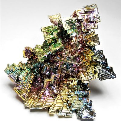 Bismuth - 235 gram Crystal Cluster from Germany -XXXlg