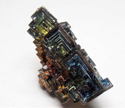 Bismuth - Iridescent Mirror Crystals from Germany