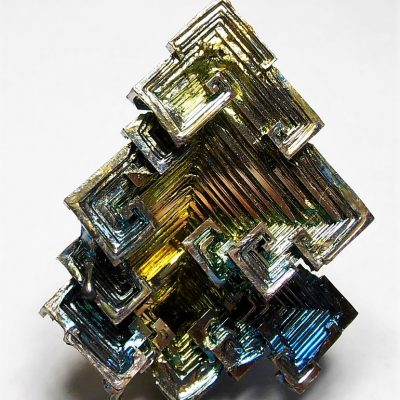Bismuth Crystal Cluster from Germany