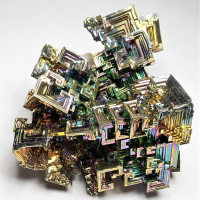 Bismuth - lg 5 oz Crystal Cluster from Germany