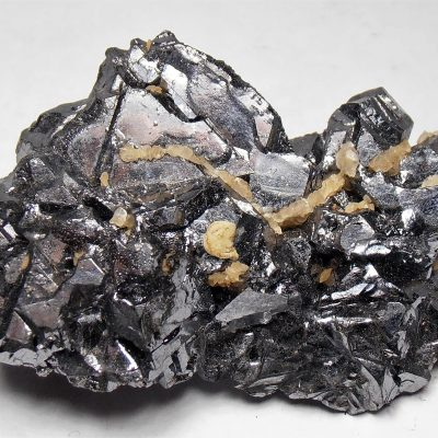 Galena Spinel Twins from the Madan Ore Field, Smolyan Oblast