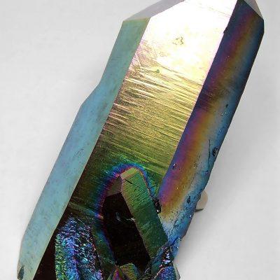 Titanium Aura - 5 inch Infused Large Quartz Crystal