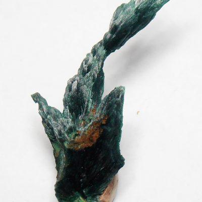 Malachite - Fibrous Crystals from Kerrochene