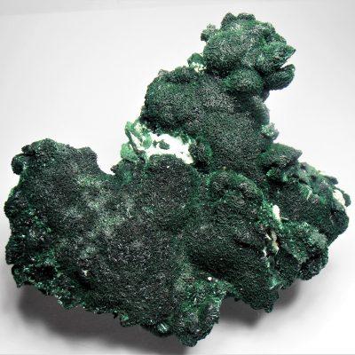 Malachite - Chatoyant Crystalline Plate from Kolwezi