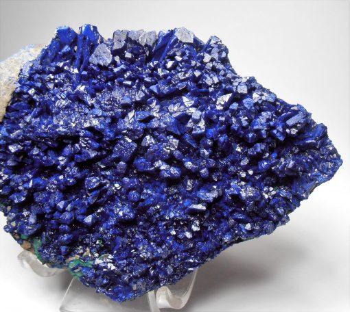 Azurite Crystal Plate - Mulungwishi Mine, Kambove District