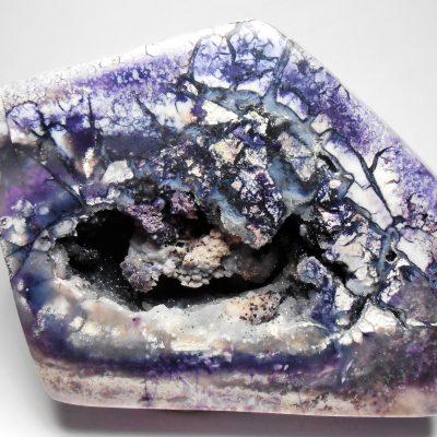 """Bertrandite Geode - Rare """"Tiffany Stone"""" Geode from Utah"""