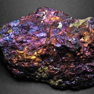 "Chalcopyrite - Large ""Peacock Ore"" from Zacatecas"