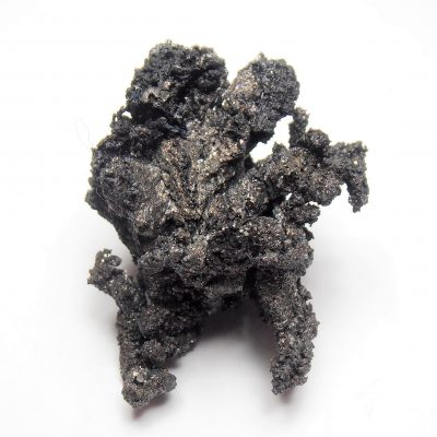 Silver and Acanthite from the Colquechaca Mine, Potosi