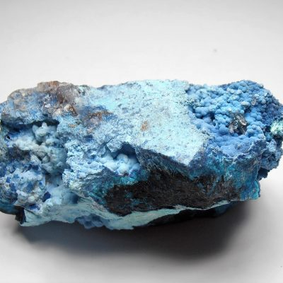 Shattuckite and Chrysocolla from the Milpillas Mine, Cuitaca